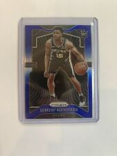 2019-20 Prizm Rookie Blue Quinndary Weatherspoon RC 135/199 Spurs