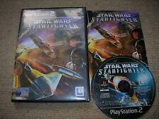 STAR WARS : STARFIGHTER - Rare Sony PS2 Game