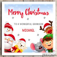 PERSONALISED RYANS WORLD CHRISTMAS CARD SON DAUGHTER GRANDSON NIECE GEM DETAIL