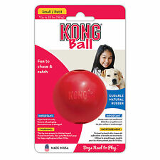 KONG CLASSIC Rubber Ball Dog Fetch Tough Chew Toy Small (KB2)