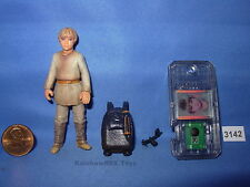 "Star Wars 1999 Anakin Skywalker Tatooine w/CommTech Chip 3.75"" Figure Complete"