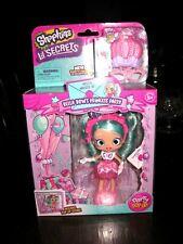 Shopkins Lil Secrets Party Pop Ups Shoppies doll Bella Bow's Princess Party NIB