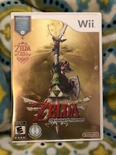 Legend of Zelda: Skyward Sword (Nintendo Wii, 2011) Complete w All Inserts!