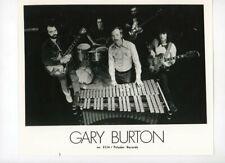 GARY BURTON and Band - Jazz Vibraphonist - Vintage Original 1972 Press Photo