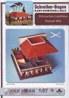 Schreiber-Bogen Card Modelling Roman Villa 1:87