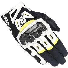 Alpinestars Glove Moto SMX 2 Air Carbon V2 White Yellow Fluo XL