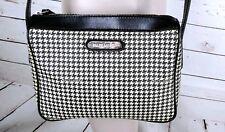 6af7d7112330 Vintage Ralph Lauren Houndstooth Crossbody Shoulder Bag Hand Bag Purse