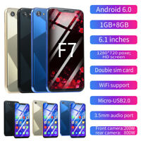 6,1 Zoll Ultra Android 6,0 HD Kamera Quad-Core 1GB+8GB GSM WiFi Dual SIM Hnady