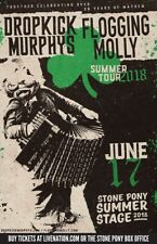 "DROPKICK MURPHYS/FLOGGING MOLLY""SUMMER TOUR 2018""CONCERT POSTER FOR PHILLY OR NJ"