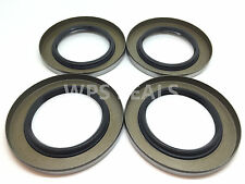 Qty 4 Trailer Wheel Grease Seals 5200-7000# 2.125'' 10-10 (21333TB) Spindle D42
