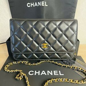 Chanel Wallet on Chain Gold lambskin