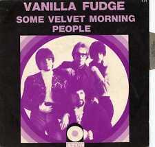 """VANILLA FUDGE """"SOME VELVET MORNING"""" FR 1968 W/PS"""