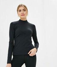 Nike Pro HyperCool Women's Ribbed Long-Sleeve Top Running Top Mesh Underarm