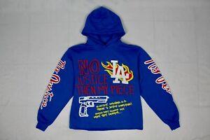 Homme Femme x Kool Kiy LA Riots Hoodie (Royal Blue)