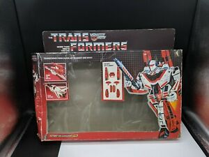 BOX ONLY JETFIRE 1984 TRANSFORMER G1 AUTOBOT ***BOX ONLY***