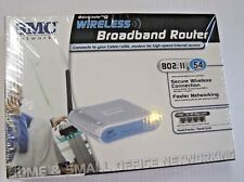 SMC Wireless 54mbps Broadband Router 802.11g Secure Wireless Connection NEW