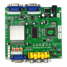 CGA EGA YUV  to VGA GAME Video Converter Board 2VGA Output GBS8220 Video Game