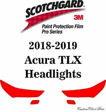 3M Scotchgard Paint Protection Film Pro Series Clear Bra Kit 2018 2019 Acura TLX