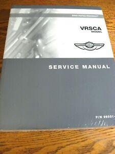 2003 Harley-Davidson VRSCA V-Rod SERVICE MANUAL w Wiring Diagrams, NEW in Wrap