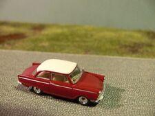 1/87 Brekina DKW JUNIOR DE LUXE ROSSO VINACCIA tetto dell'avorio 28103