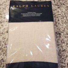 """New Ralph Lauren One European Sham- Rue Vaneau Ardenfield Cream Blue 26X26"""""""
