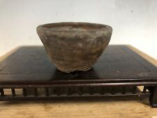 Unglazed Shohin Or Accent Size Bonsai Tree Pot Tofukuji Jr.  2 3/8""