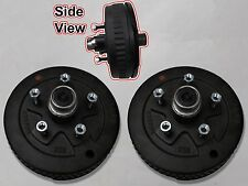5 x 5 Pair of Brake Assembly Spindle Kit Stub End Unit Trailer Axle 3500 84