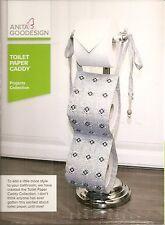 Anita Goodesign Embroidery Machine Design CD TOILET PAPER CADDY