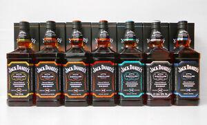 Jack Daniels Master Distiller Series 1 LITRE 43% *****Full Set Of 7 NOT 6 Wow!!