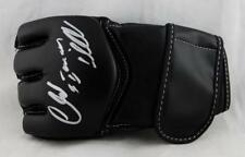 Chuck Liddell Autographed Century UFC Glove w/ Iceman -Beckett Authentic *Silver