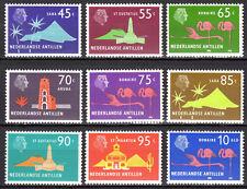 Dutch Antilles - 1973 Definitives views Mi. 254-62 MNH