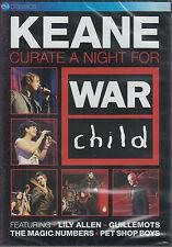 KEANE curate a night for war child DVD NEU