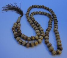 New Islamic/Muslim Tasbih/Tasbeeh 101 LIGHT BROWN/GOLDEN COLOUR  Beads UK Stock