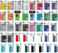 More details for ultra pro small card sleeves yugioh trading sleeves deck protectors 1-10 packs!