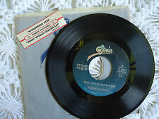 """Ronnie McDowell: """"Wandering Eyes/What Would Heaven Say"""" 45record 1980 w/JBS"""