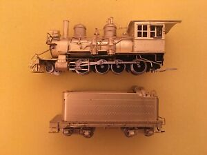 HOn3 Sunset Model Brass Unpainted Rio Grande 2-8-0 C-16 Steam Locomotive D&RGW