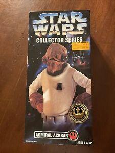"1997 Star Wars Collector Series Admiral Ackbar Kenner 12"" Action Figure"