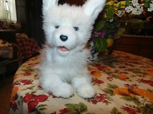 FurReal Friends SCAMPS My Playful Pup Interactive White Dog Animated Tricks Bark