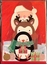 "Papyrus CHRISTMAS Greeting Card ""CHRISTMAS FRIENDS"""