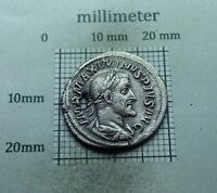Original Antique Coin SILVER ROMAN DENARIUS Maximinus I Thrax 235-238 A.D # 0005