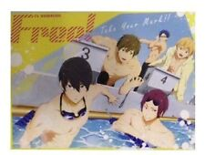 Free! - Iwatobi Swim Club in the Pool Microfiber Blanket Anime Manga NEW