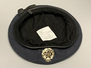 NEW Royal Air Force-Issue Beret & Badge. Size 59cm. RAF.
