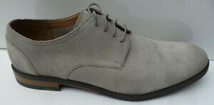 Mens Clarks Flow Plain Beige Suede Lace Up Shoes  - Size UK 9 & 10.5 RRP £93