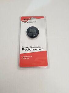 Sportline Step and Distance Pedometer Walking Running Jogging Pedometer Tracker