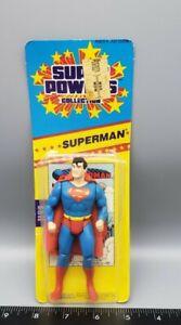 Vintage Kenner DC Superman Super Powers Action Figure *read