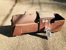 Vintage Metal Train Engine Shell