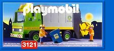 Playmobil 3121 Recycling Truck Garbage Trash Vehicle New in Box Retired Rare