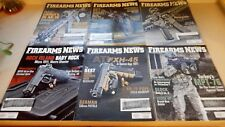 Lot OF 6 Issues of FIREARMS NEWS Magazines Formerly SHOTGUN NEWS All From 2016