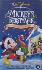 MICKEY'S KERSTMAGIE - WALT DISNEY - VHS (original Disney-case)