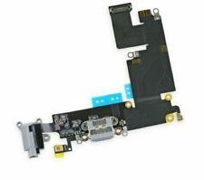 "Lot of 5 Apple iPhone 6 Plus 5.5"" USB Charging Port Dock Audio Flex Cable Gray"